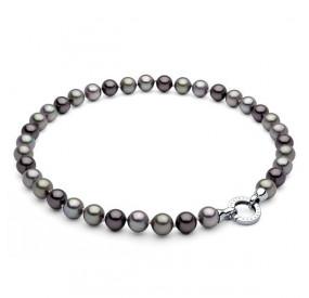 Naszyjnik fioletowy perła 10 mm