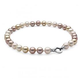 Naszyjnik kremowy perła 12 mm