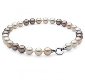 Naszyjnik kremowy-odcienie perła 14 mm