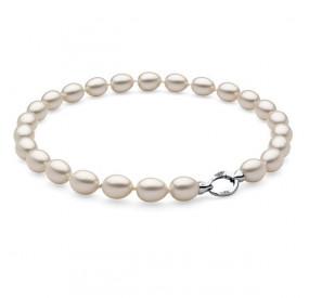 Naszyjnik kremowy perła 12 x 15 mm