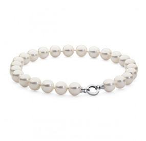 Naszyjnik biały perła 16 mm