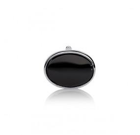 Charms 13 x 18 mm czarny perła