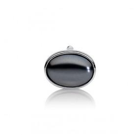 Charms 13 x 18 mm grafitowy-ciemny perła