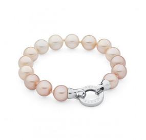 Bransoletka kolor kremowy perła 10 mm